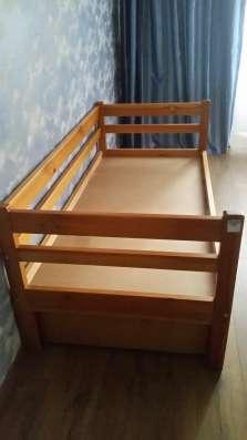 """Дет. кровать """"Подросток"""" 80х170 из массива дерева"""