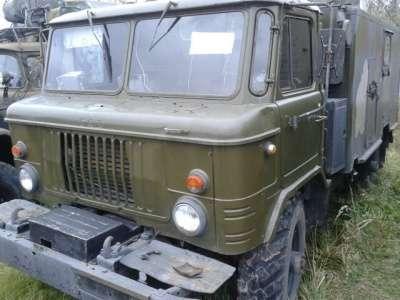 грузовой автомобиль ГАЗ 66 с кунгом