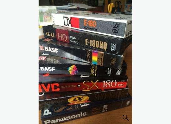 Видеокассеты импортные