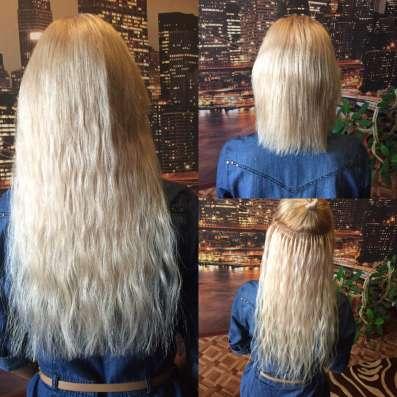 Наращивание волос и ногтей