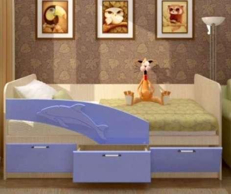 Детская кроватка с ящиками в Москве Фото 3