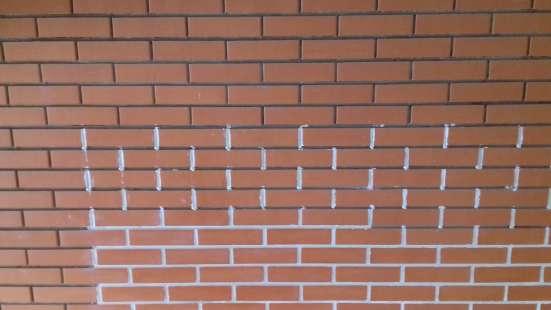 Декоративное заполнение швов кирпичной кладки в Москве Фото 1