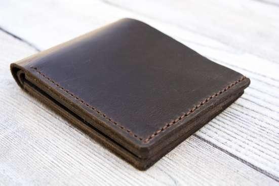 Кожаный кошелек в г. Северодонецк Фото 1
