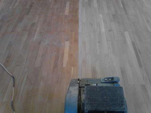 Шлифовка, циклевка, реставрация деревянных напольных покрытий
