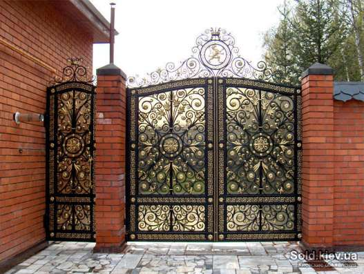 Ворота гаражные, ворота кованные, ворота промышленные