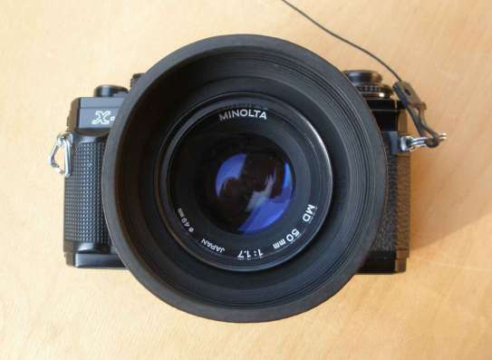 Пленочный зеркальный фотоаппарат Minolta X-700 в Пензе Фото 3