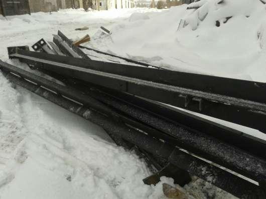 Продаём с места демонтажа в Красноярске металлические балки