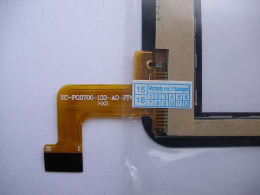 Тачскрин XC-PG0700-133-A0-FPC