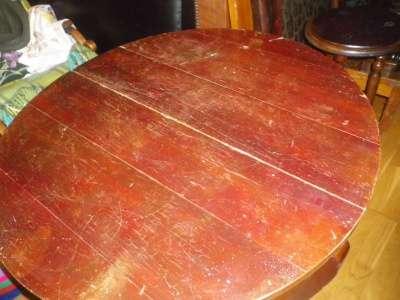 Старинный круглый стол в Москве Фото 1
