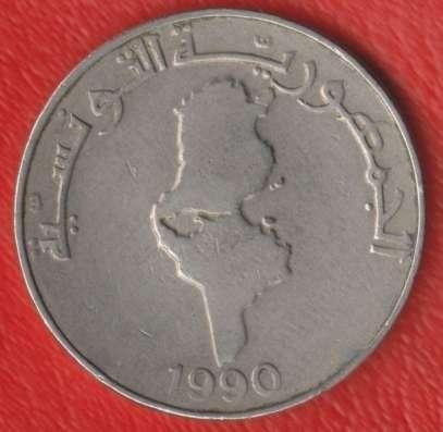 Тунис 1 динар 1990 г. в Орле Фото 1
