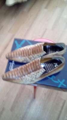 Туфли коричнего цвета 40 размер