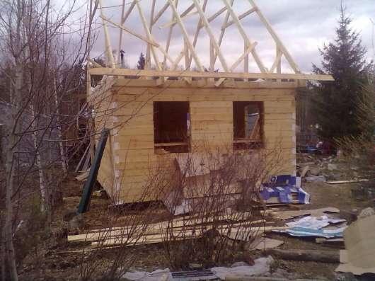 Строительство. Дома, бани, беседки. По сверловской области в Екатеринбурге Фото 3