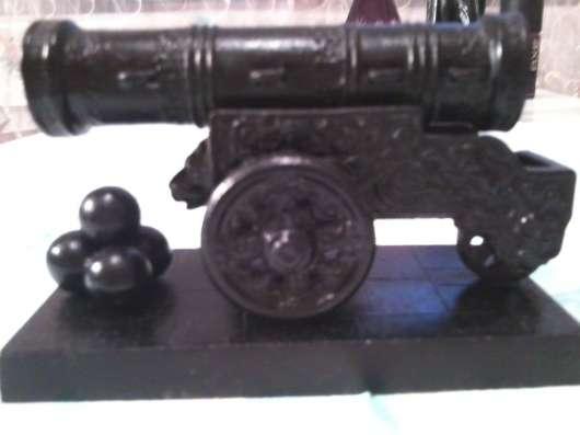 Чугунная статуэтка царь-пушка Касли СССР