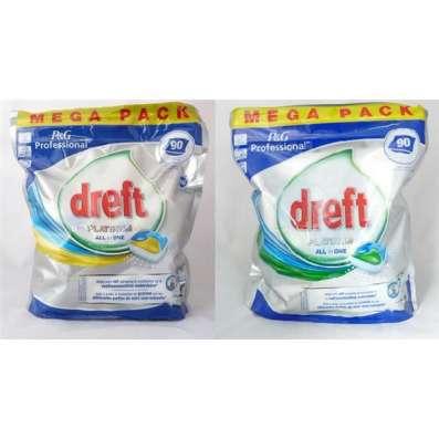 Таблетки для посудомоечных машин Dreft Platinum