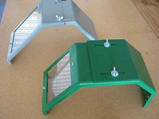 Защитный щиток с увеличенным окном ТВ-4,6, бронепленка