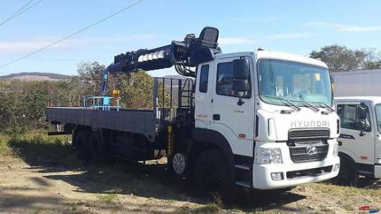 Hyundai HD250 HIAB 190TM + БУР ТОЛЬКО У НАС