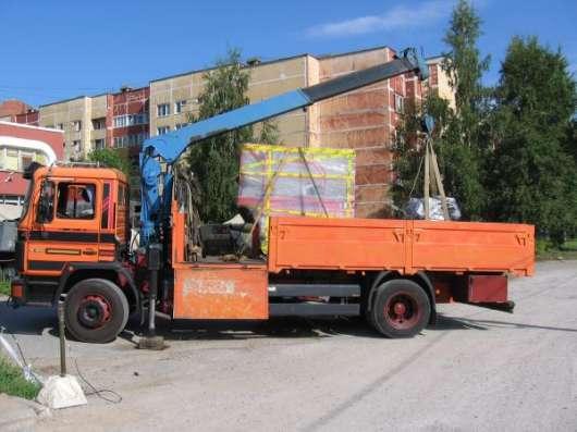 Перевозки манипулятором Спб в Санкт-Петербурге Фото 1
