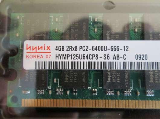 Модули оперативной памяти Hynix DDR-2 4Gb