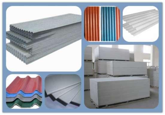 Обрудоваия для производства цемено-волокнистой плиты