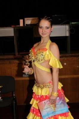 Яркое платье для бально-спортивнызх танцев, La