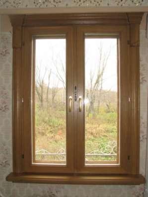 Евроокна,финские окна из дуба,сосны,бука в Пензе Фото 1
