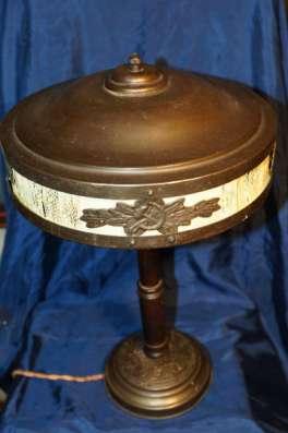 Лампа настольная наркомовская, 1930-е гг