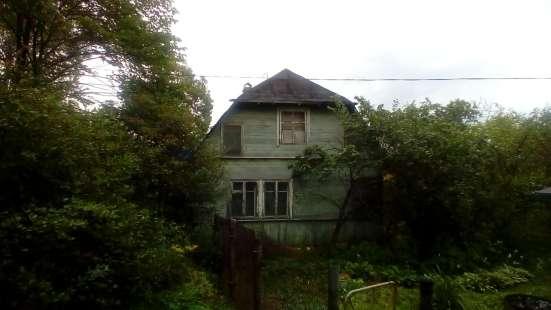 Продам участок с дачей в 8 км от г Выборга