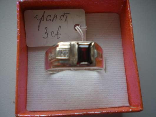 Авторский серебряный мужской перстень с натуральным гранатом в г. Харьков Фото 3