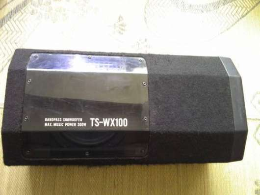"Корпусной сабвуфер ""Pioneer"" TS-WX 100"
