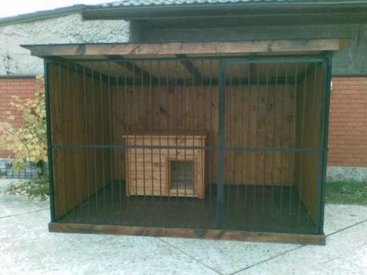 Вольеры для собак и животных в Красноярске Фото 2