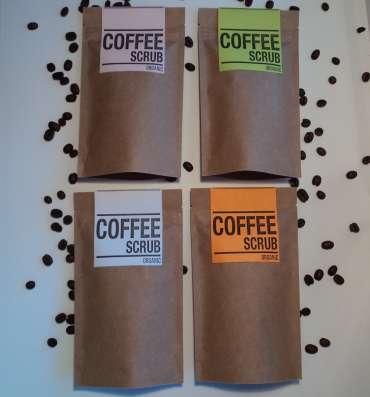 Набор кофейных скрабов сoffeе skrub для тела и лица