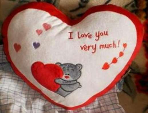 Подушка Love Сердце новая