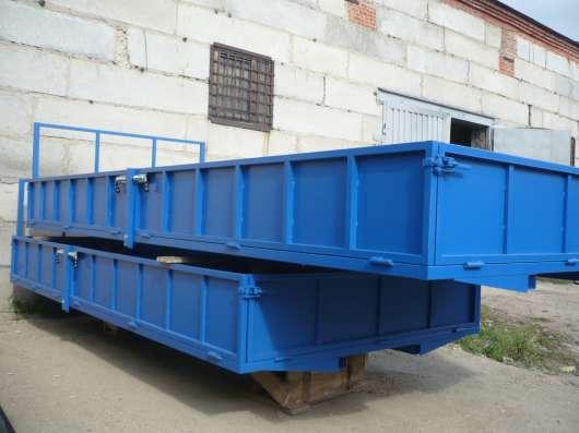 Изготовление бортовых платформ на все виды грузовиков в Миассе Фото 2
