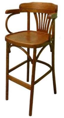Барный деревянный стул Аполло.
