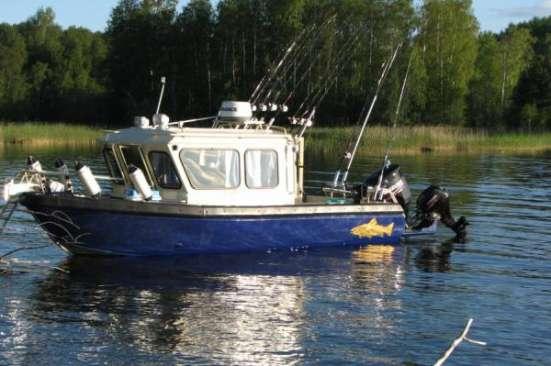 Продаем катер (лодку) Trident 720 CT Indigo в Ярославле Фото 4