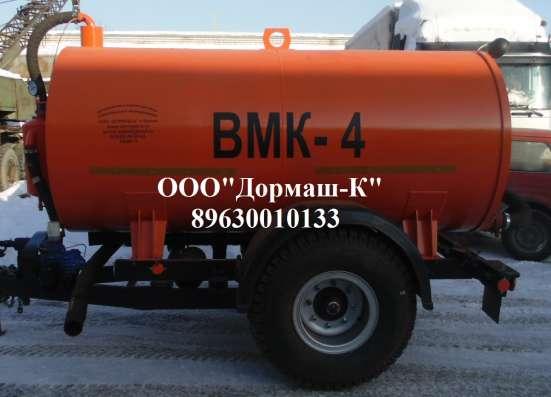 Вакуумный прицеп на МТЗ ВМК-4