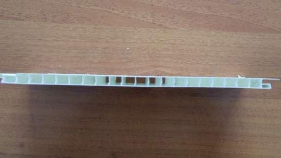 Панель ПВХ 10*250*6000, белая в Красноярске Фото 1