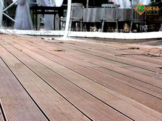 Террасная доска (декинг) древесно-полимерная MasterDeck вель в Москве Фото 2