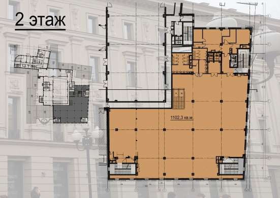 ТЦ КАДУЦЕЙ 24, 2200М², центр улицы Арбат, первая линия в Москве Фото 3