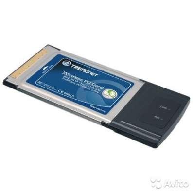 Сетевая карта trendnet TEW-421PC, Wireless PC Card