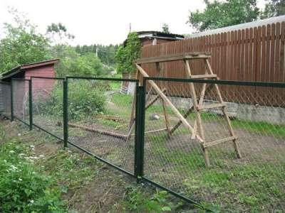 Заборные секции металлические