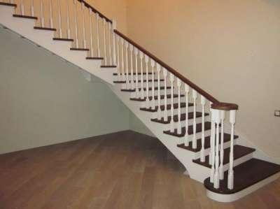 Лестницы деревянные из массива Новая Лестница в г. Долгопрудный Фото 4