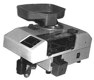 Машина для счета и фасовки монет АСМ-1Л АДОНИС
