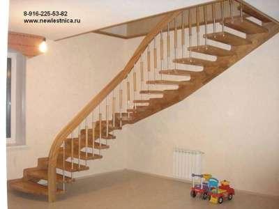 Красивые лестницы от производителя Новая Лестница в Зеленограде Фото 5