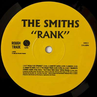 The Smiths - Rank в Санкт-Петербурге Фото 2