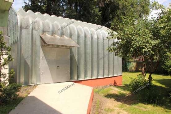 Строительство мобильных бескаркасных ангаров в Талдыкорган