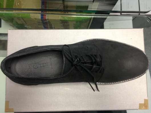 Ботинки нубуковые Alexander McQueen