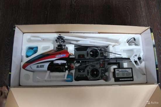 Радиоуправляемый вертолет Blade 450 3D + аккум в Москве Фото 3