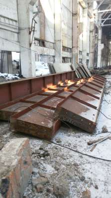Кран балка 10 тонн с путями в Набережных Челнах Фото 1
