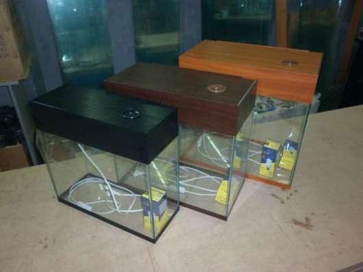 Изготовление и продажа аквариумов.